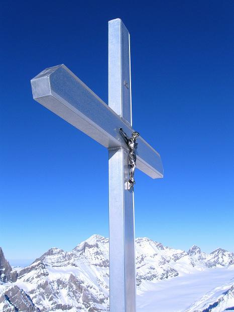 Foto: Andreas Koller / Ski Tour / Von der Lauchernalp aufs Hockenhorn (3293m) / 12.01.2009 19:24:25