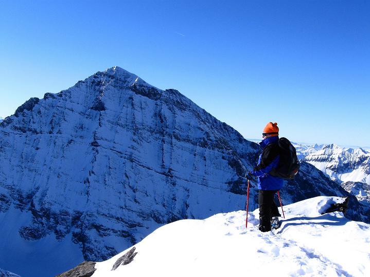 Foto: Andreas Koller / Ski Tour / Von der Lauchernalp aufs Hockenhorn (3293m) / Balmhorn (3698 m) / 12.01.2009 19:24:16