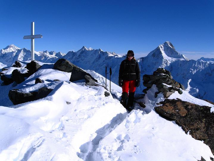 Foto: Andreas Koller / Ski Tour / Von der Lauchernalp aufs Hockenhorn (3293m) / 12.01.2009 19:23:41