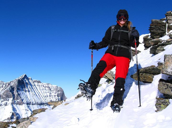 Foto: Andreas Koller / Ski Tour / Von der Lauchernalp aufs Hockenhorn (3293m) / Abstieg vom Hockenhorn / 12.01.2009 19:23:32