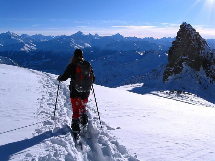 Foto: Andreas Koller / Ski Tour / Von der Lauchernalp aufs Hockenhorn (3293m) / 12.01.2009 19:23:18