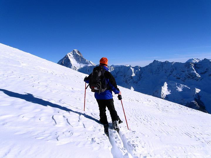 Foto: Andreas Koller / Ski Tour / Von der Lauchernalp aufs Hockenhorn (3293m) / 12.01.2009 19:23:10