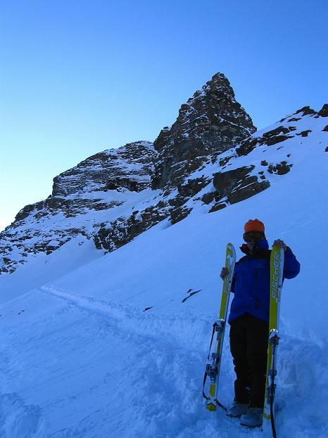 Foto: Andreas Koller / Ski Tour / Von der Lauchernalp aufs Hockenhorn (3293m) / 12.01.2009 19:22:40