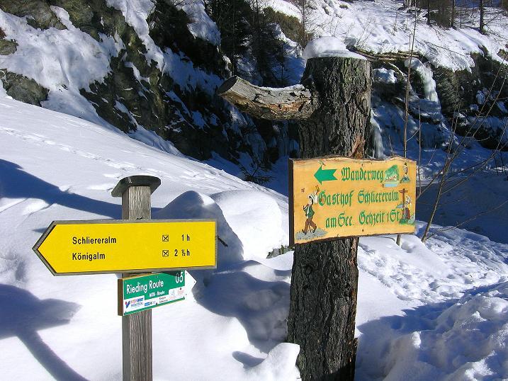 Foto: Andreas Koller / Ski Tour / Rassige Tour aufs Kleine Mosermandl (2538m) / Ausgangspunkt Wald / 12.01.2009 19:17:45