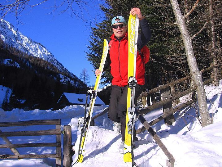 Foto: Andreas Koller / Ski Tour / Rassige Tour aufs Kleine Mosermandl (2538m) / 12.01.2009 19:17:34