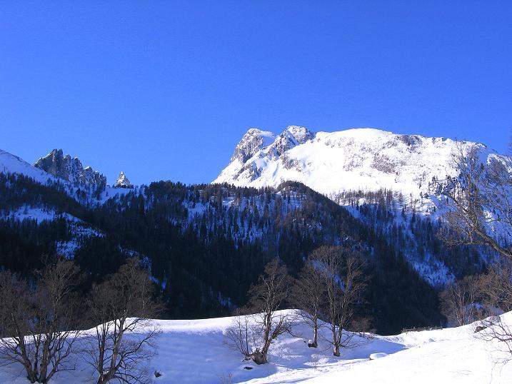 Foto: Andreas Koller / Ski Tour / Rassige Tour aufs Kleine Mosermandl (2538m) / Weißeck (2711 m) / 12.01.2009 19:17:26