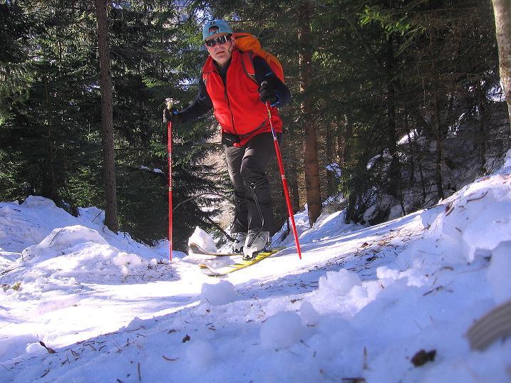 Foto: Andreas Koller / Ski Tour / Rassige Tour aufs Kleine Mosermandl (2538m) / 12.01.2009 19:17:11