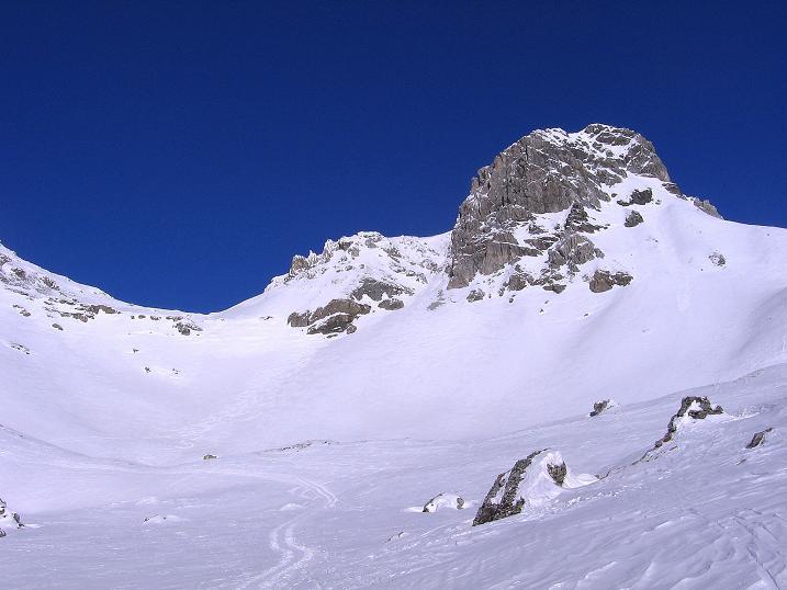Foto: Andreas Koller / Ski Tour / Rassige Tour aufs Kleine Mosermandl (2538m) / Schliererscharte / 12.01.2009 19:15:24