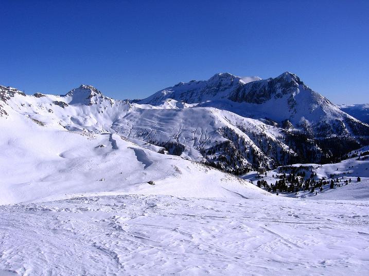 Foto: Andreas Koller / Ski Tour / Rassige Tour aufs Kleine Mosermandl (2538m) / Hochfeindkamm (2687 m) / 12.01.2009 19:15:10
