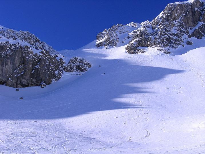 Foto: Andreas Koller / Ski Tour / Rassige Tour aufs Kleine Mosermandl (2538m) / Steiles Urbankar / 12.01.2009 19:14:40
