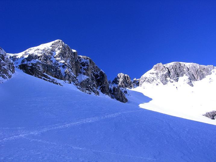 Foto: Andreas Koller / Ski Tour / Rassige Tour aufs Kleine Mosermandl (2538m) / 12.01.2009 19:14:23