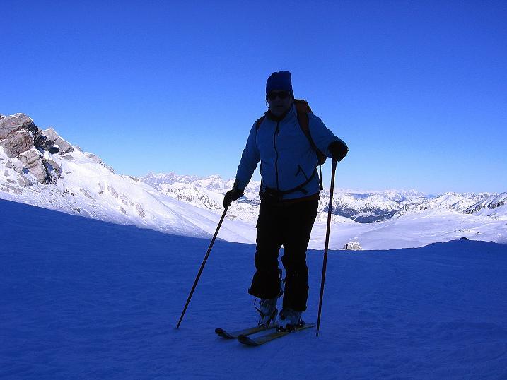 Foto: Andreas Koller / Ski Tour / Rassige Tour aufs Kleine Mosermandl (2538m) / 12.01.2009 19:13:05