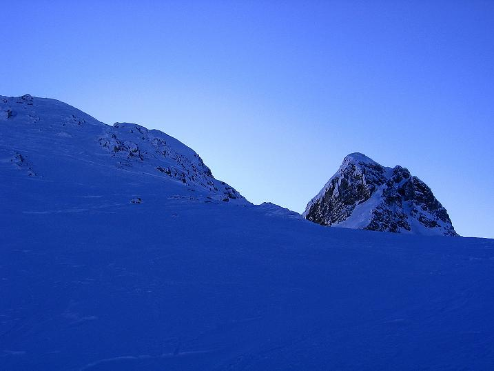 Foto: Andreas Koller / Ski Tour / Rassige Tour aufs Kleine Mosermandl (2538m) / Die beiden Mosermandl / 12.01.2009 19:11:52