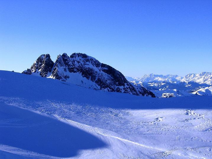 Foto: Andreas Koller / Ski Tour / Rassige Tour aufs Kleine Mosermandl (2538m) / Faulkogel (2654 m) und Leoganger Steinberge / 12.01.2009 19:10:50