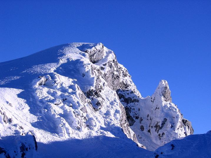 Foto: Andreas Koller / Ski Tour / Rassige Tour aufs Kleine Mosermandl (2538m) / 12.01.2009 19:10:07