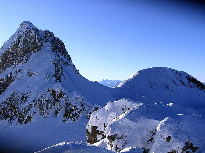 Foto: Andreas Koller / Ski Tour / Rassige Tour aufs Kleine Mosermandl (2538m) / Mosermandl (2680 m) und Windischkopf (2609 m) / 12.01.2009 19:09:36