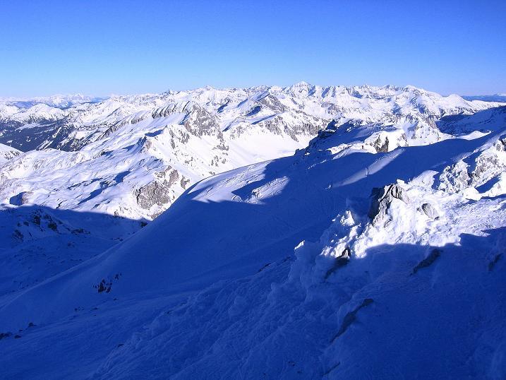 Foto: Andreas Koller / Ski Tour / Rassige Tour aufs Kleine Mosermandl (2538m) / Die Schladminger Tauern im O / 12.01.2009 19:07:39