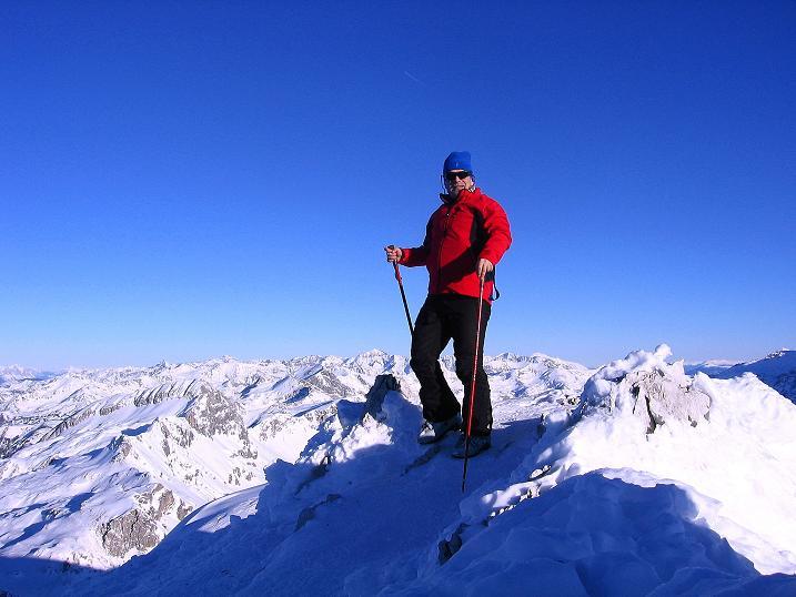 Foto: Andreas Koller / Ski Tour / Rassige Tour aufs Kleine Mosermandl (2538m) / 12.01.2009 19:07:20