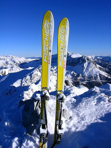 Foto: Andreas Koller / Ski Tour / Rassige Tour aufs Kleine Mosermandl (2538m) / 12.01.2009 19:06:42