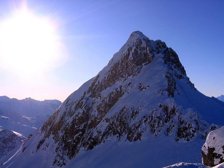 Foto: Andreas Koller / Ski Tour / Rassige Tour aufs Kleine Mosermandl (2538m) / Großes Mosermandl (2680 m) / 12.01.2009 19:06:33