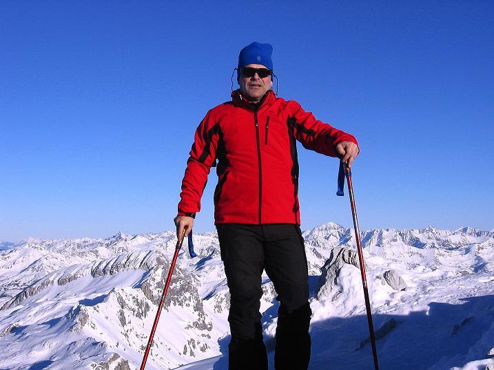 Foto: Andreas Koller / Ski Tour / Rassige Tour aufs Kleine Mosermandl (2538m) / 12.01.2009 19:06:17