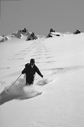 Foto: Kurt Schall / Ski Tour / FUORCLA VILOUCH, 3005 m PORTA D'ES-CHA, 3008 m / 15.01.2009 13:32:54