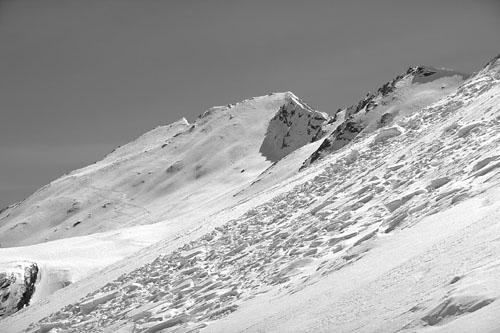 Foto: Kurt Schall / Ski Tour / JUFERHORN, 2967 m Über die Nordostflanke / 15.01.2009 13:41:09