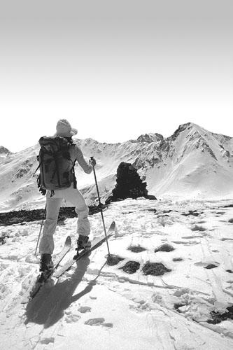 Foto: Kurt Schall / Ski Tour / PIZ DAINT, 2968 m / 15.01.2009 14:18:33