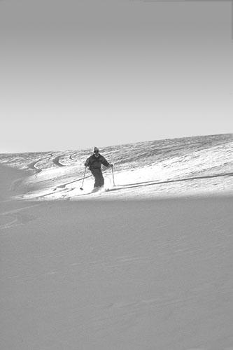 Foto: Kurt Schall / Ski Tour / PIZ DAINT, 2968 m / 15.01.2009 14:18:41