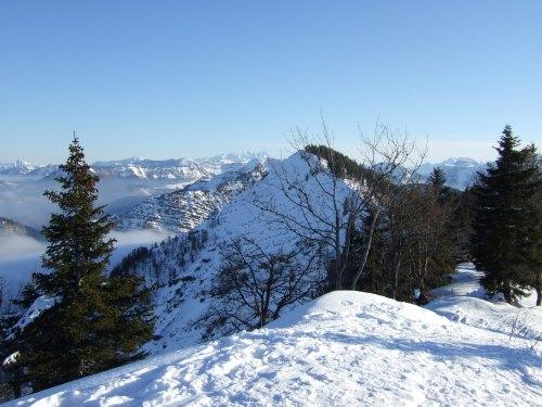 Foto: hofchri / Ski Tour / 4 Gipfeltour in der Osterhorngruppe ab der Gaißau / 13.01.2009 12:32:50