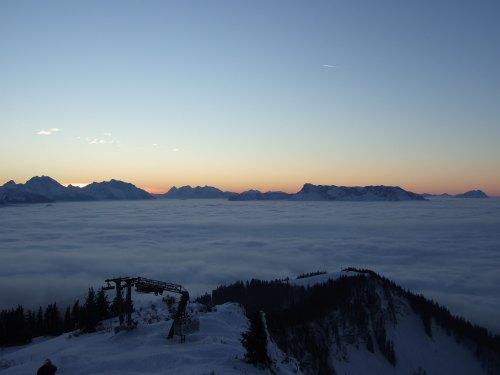 Foto: hofchri / Ski Tour / 4 Gipfeltour in der Osterhorngruppe ab der Gaißau / 13.01.2009 12:40:42