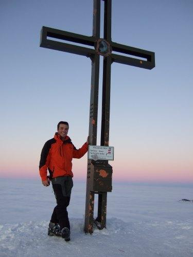 Foto: hofchri / Ski Tour / 4 Gipfeltour in der Osterhorngruppe ab der Gaißau / Gipfel Wieserhörndl (1.567 m) / 13.01.2009 12:41:20