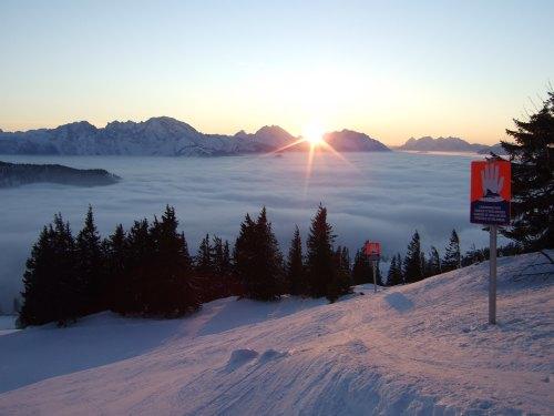Foto: hofchri / Ski Tour / 4 Gipfeltour in der Osterhorngruppe ab der Gaißau / 13.01.2009 12:40:11