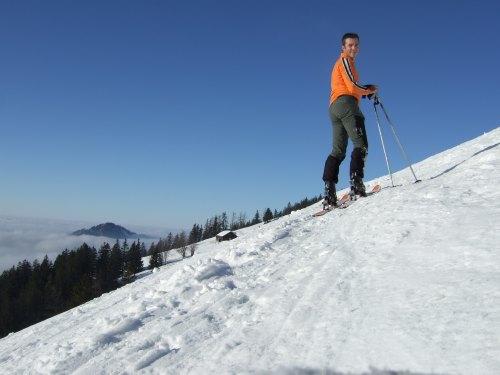 Foto: hofchri / Ski Tour / 4 Gipfeltour in der Osterhorngruppe ab der Gaißau / 13.01.2009 12:31:23