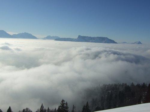 Foto: hofchri / Ski Tour / 4 Gipfeltour in der Osterhorngruppe ab der Gaißau / 13.01.2009 12:31:32