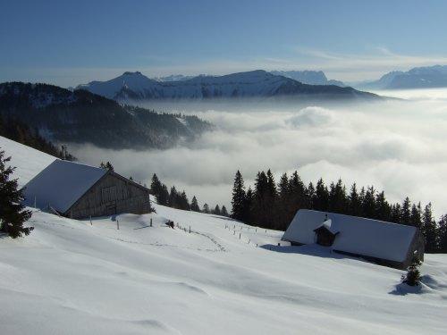 Foto: hofchri / Ski Tour / 4 Gipfeltour in der Osterhorngruppe ab der Gaißau / 13.01.2009 12:31:51