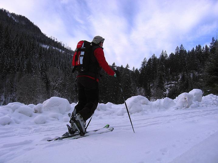 Foto: Andreas Koller / Ski Tour / Durch das Nappental auf die Kräuterin (1919m) / 18.01.2009 23:37:03