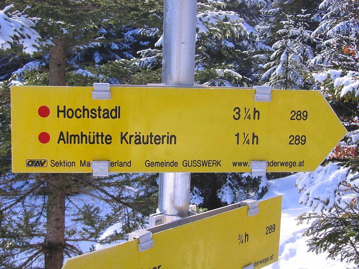 Foto: Andreas Koller / Ski Tour / Durch das Nappental auf die Kräuterin (1919m) / 18.01.2009 23:36:28
