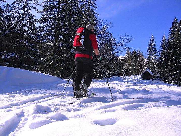 Foto: Andreas Koller / Ski Tour / Durch das Nappental auf die Kräuterin (1919m) / 18.01.2009 23:36:05