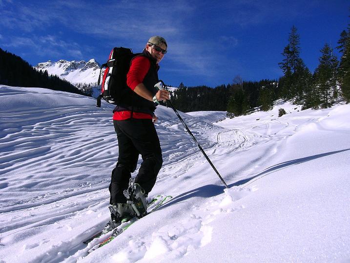 Foto: Andreas Koller / Ski Tour / Durch das Nappental auf die Kräuterin (1919m) / 18.01.2009 23:35:39