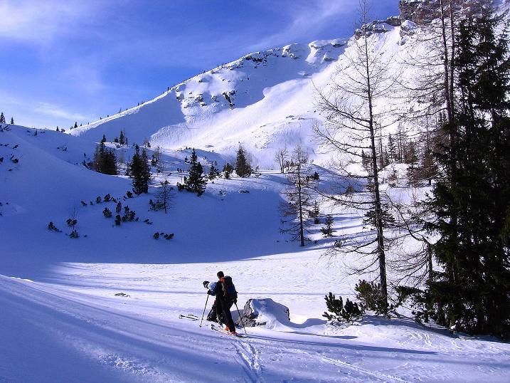 Foto: Andreas Koller / Ski Tour / Durch das Nappental auf die Kräuterin (1919m) / 18.01.2009 23:32:47