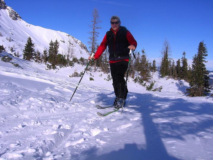 Foto: Andreas Koller / Ski Tour / Durch das Nappental auf die Kräuterin (1919m) / 18.01.2009 23:32:27