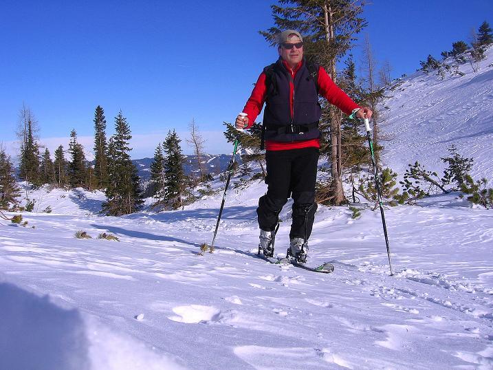 Foto: Andreas Koller / Ski Tour / Durch das Nappental auf die Kräuterin (1919m) / 18.01.2009 23:31:28