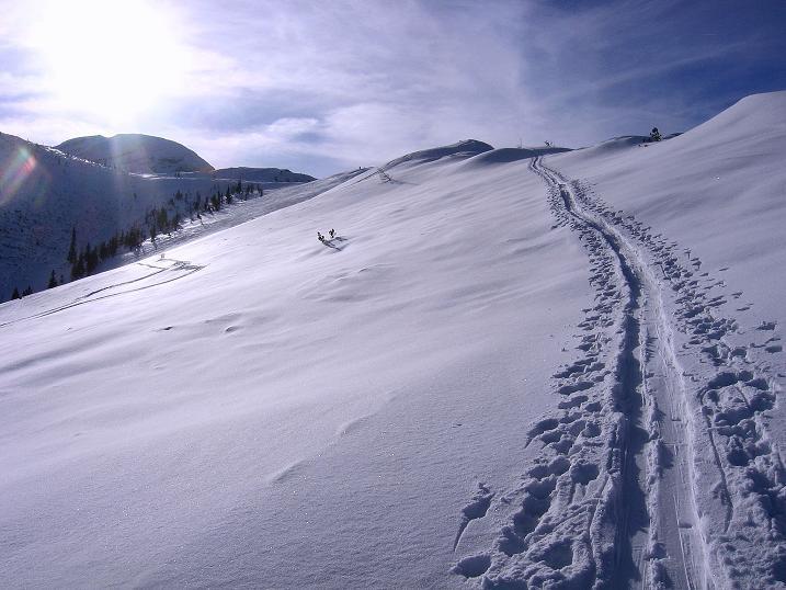 Foto: Andreas Koller / Ski Tour / Durch das Nappental auf die Kräuterin (1919m) / 18.01.2009 23:29:05