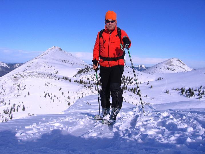 Foto: Andreas Koller / Ski Tour / Durch das Nappental auf die Kräuterin (1919m) / 18.01.2009 23:28:35