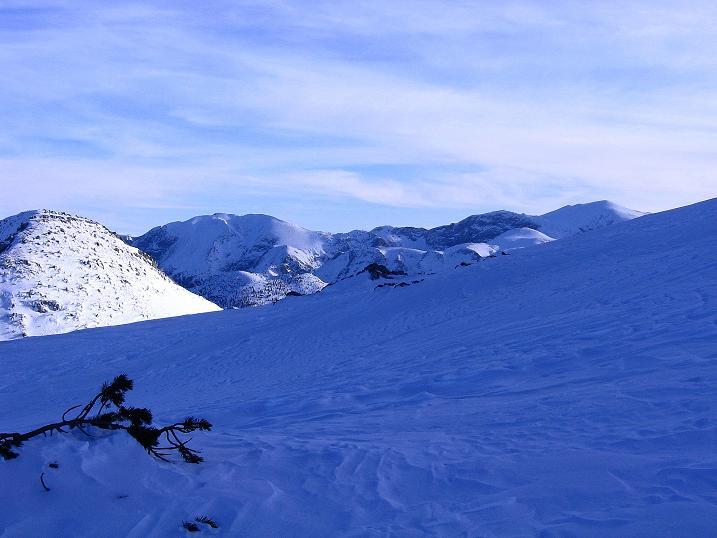 Foto: Andreas Koller / Ski Tour / Durch das Nappental auf die Kräuterin (1919m) / Hochschwab (2278 m) und seine Trabanten / 18.01.2009 23:27:56