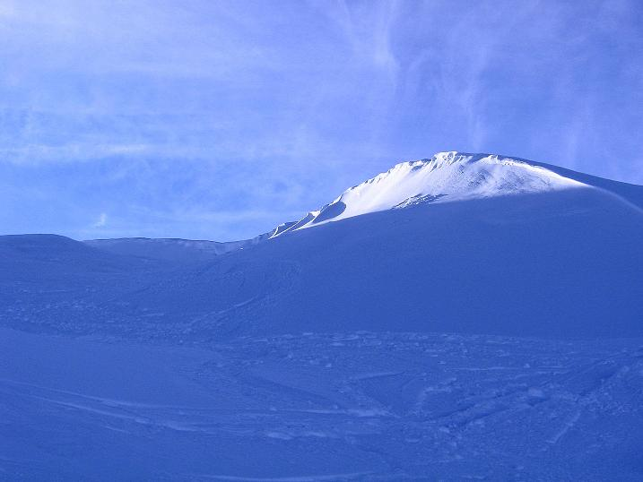 Foto: Andreas Koller / Ski Tour / Durch das Nappental auf die Kräuterin (1919m) / Der Gipfel in greifbarer Nähe / 18.01.2009 23:26:59