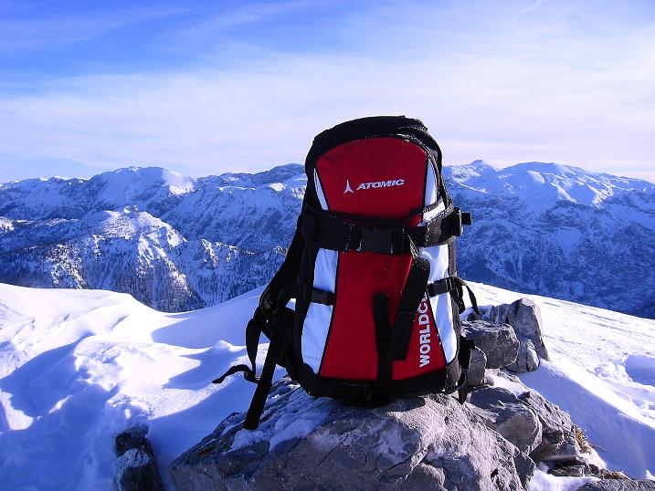Foto: Andreas Koller / Ski Tour / Durch das Nappental auf die Kräuterin (1919m) / Der Hochschwab (2278 m) / 18.01.2009 23:24:57
