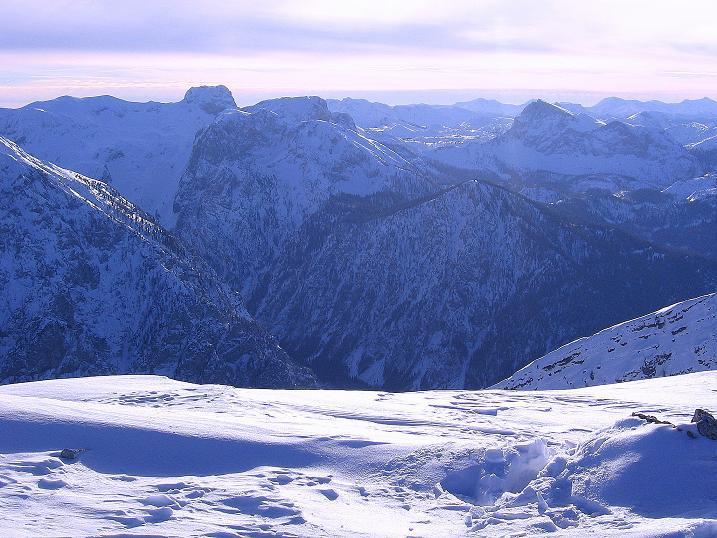 Foto: Andreas Koller / Ski Tour / Durch das Nappental auf die Kräuterin (1919m) / Die westliche Hochschwabgruppe um den Ebenstein (2123 m) / 18.01.2009 23:23:48