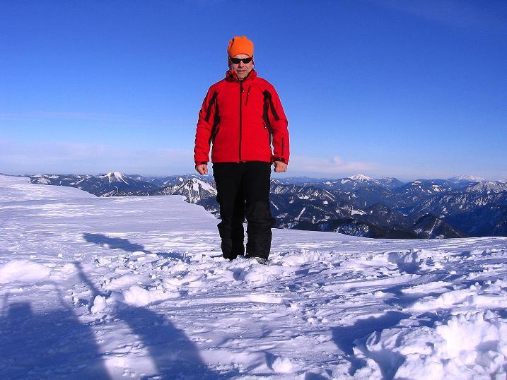Foto: Andreas Koller / Ski Tour / Durch das Nappental auf die Kräuterin (1919m) / 18.01.2009 23:23:21